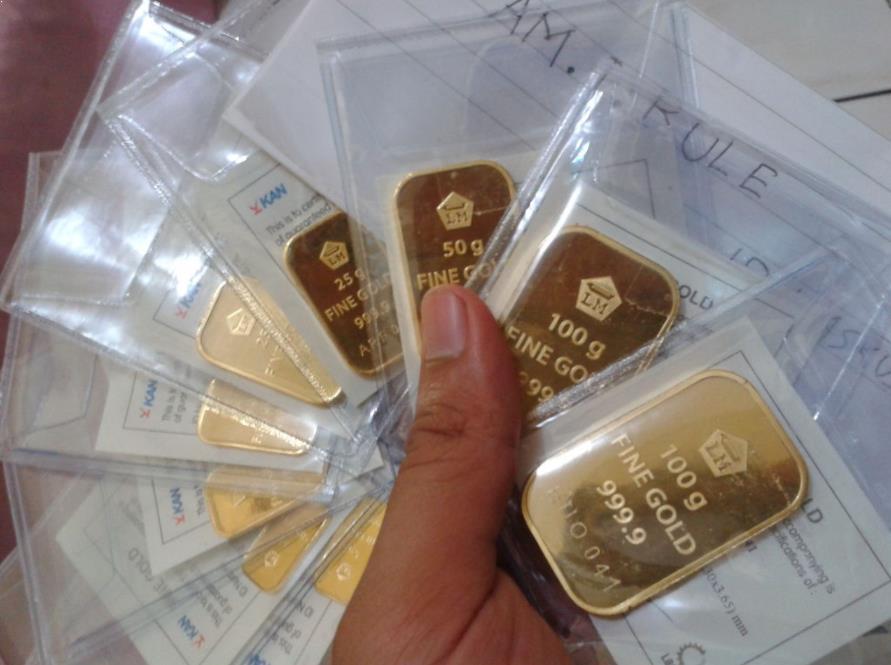 Harga Emas Dunia Hari Ini