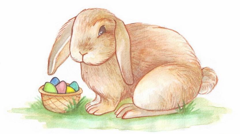 Kelinci Paskah Relistis
