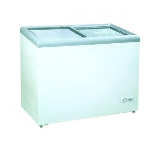 Harga Gea Sliding Flat Glass Freezer SD-256