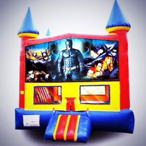 Batman bouncy rental