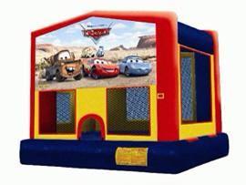 disney cars bouncy