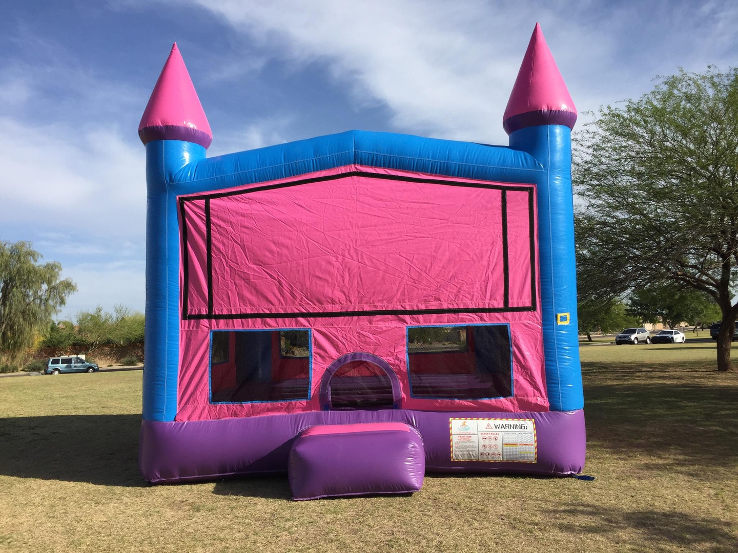 Awesome Pink Castle Modular Bounce House Phoenix Inflatable Rental Home Interior And Landscaping Ferensignezvosmurscom