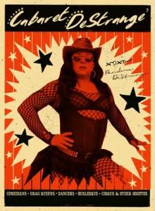 Image of poster for Cabaret Drag Night