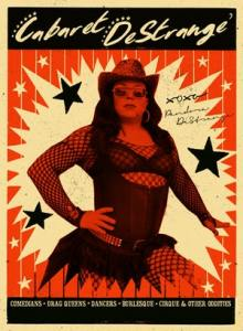 Image of poster for Cabaret Drag Night