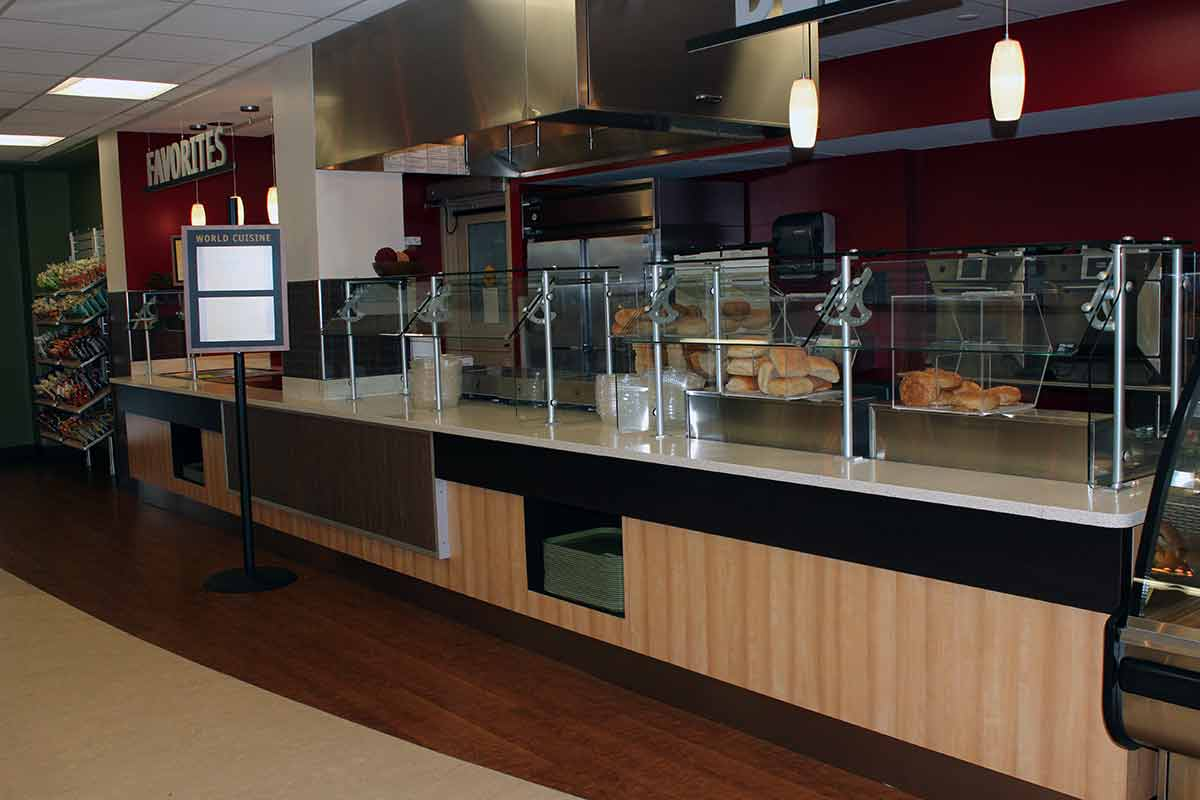 Holy Name Medical Center Servery and Cafeteria  Phoenix