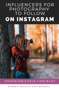 Influencers for photography