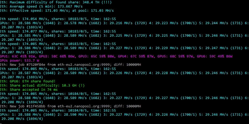 Download Phoenix Miner 5.3b - AMD+NVIDIA GPU Miner [2021]