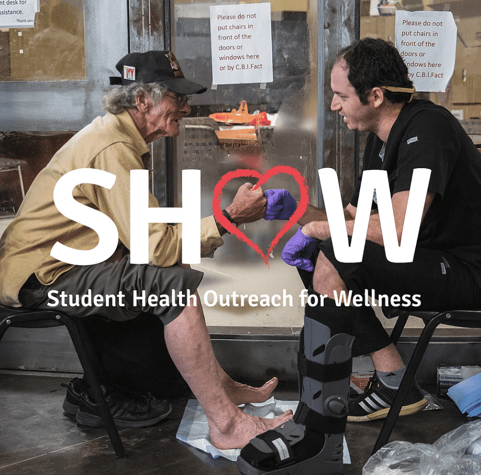 Student health outreach for wellness, SHOW, University of Arizona College of Medicine, Street Medicine, Phoenix Narrative,