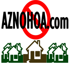 Phoenix area Homes for sale without an HOA in Arizona