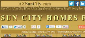 Sun City homes for sale in Arizona