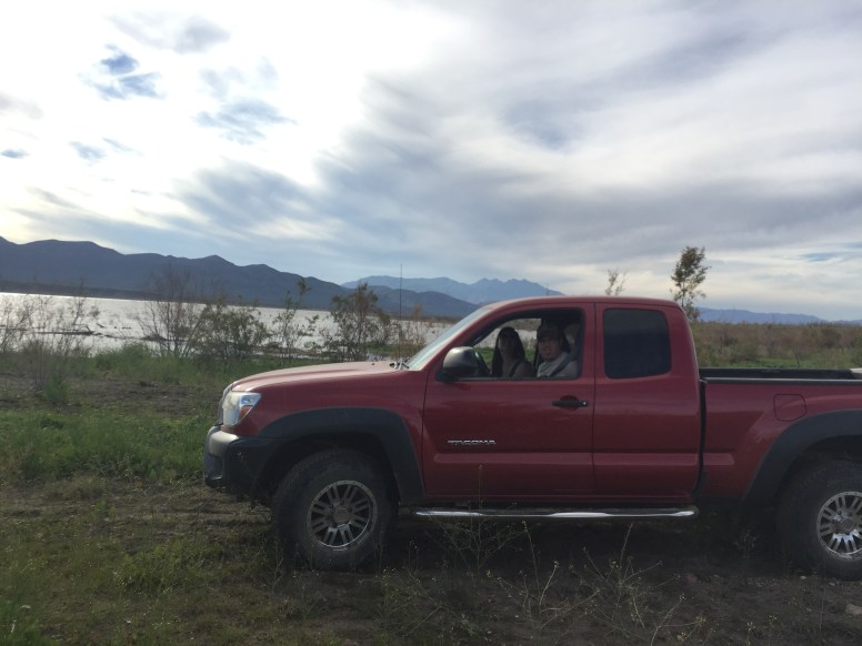 Andrews first offroad trip in his taco!