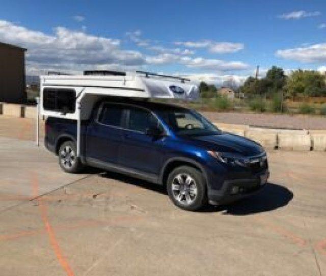 Phoenix Custom Camper For A Honda Ridgeline