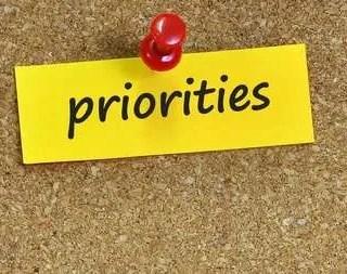 Priorities: Duane W.H. Arnold, PhD 19