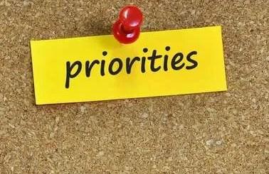 Priorities: Duane W.H. Arnold, PhD 4