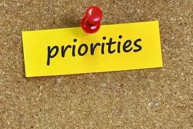 Priorities: Duane W.H. Arnold, PhD 3