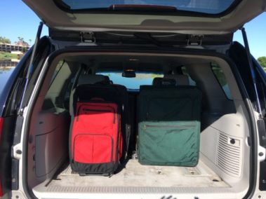 Yukon Luggage Space