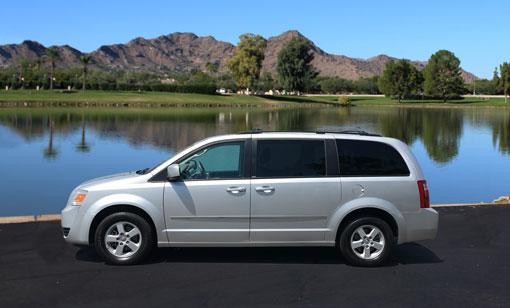 Dodge Caravan for rent at Phoenix Car Rental