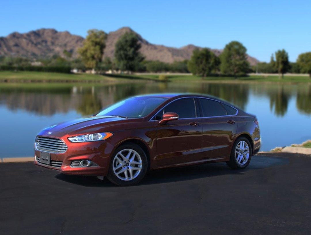 Phoenix Car Rental rents Ford Fusion Phoenix, Arizona