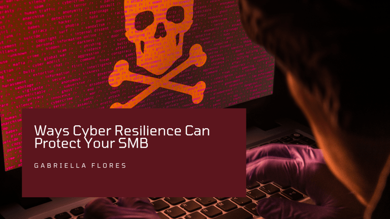 Ways Cyber Resilience Can Protect Your SMB