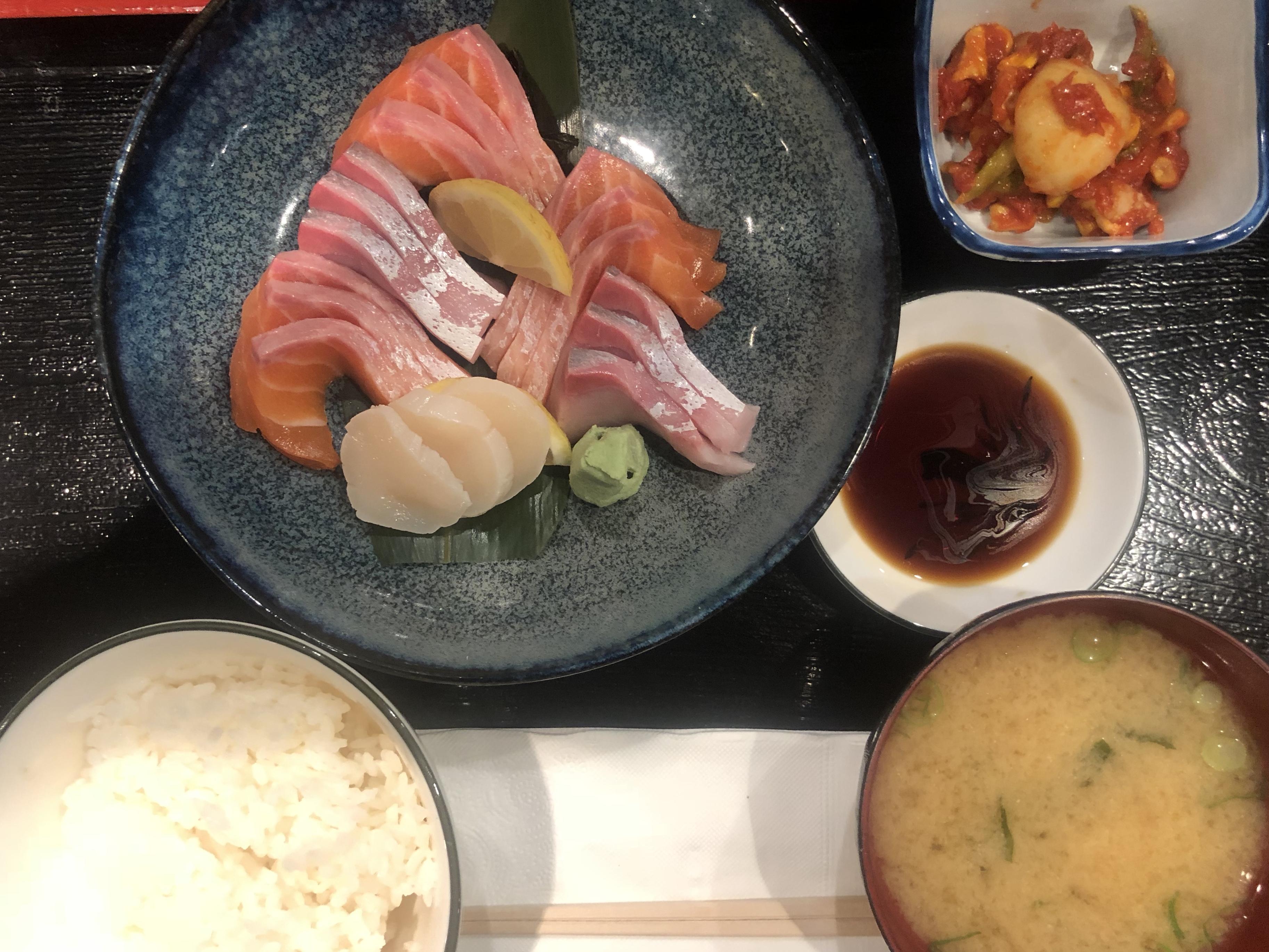 生魚片定食@勘十郎 – 孤獨食堂
