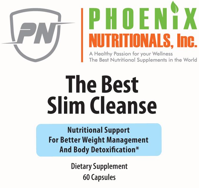 The Best Slim Cleanse Supplement 60 Caps