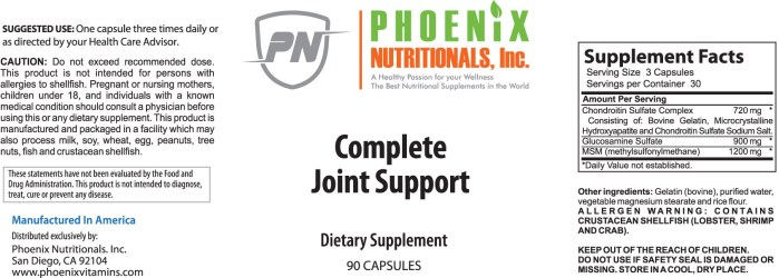 Supporting joint and connective tissues throughout the body. This is the best supplement for joints. When we consider potential damage to the joints of the body through such conditions as arthritis, Bursitis, and Others, we must not only consider addressing Cartilage destruction but connective tissue flexibility as well. Our Joint Support Formula addresses both of these issues, providing raw materials for cartilage and also nutrients to support flexibility. The Best Complete Joint Support