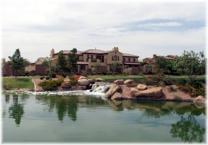 Fulton Ranch Waterfront Home in Lake community Chandler az