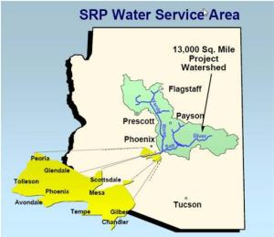 srp-water-service-area