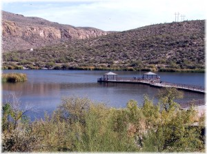 Fishing at Canyon Lake