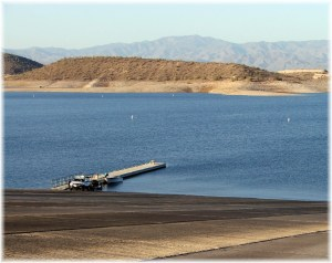 Lake Pleasant Boat Ramp