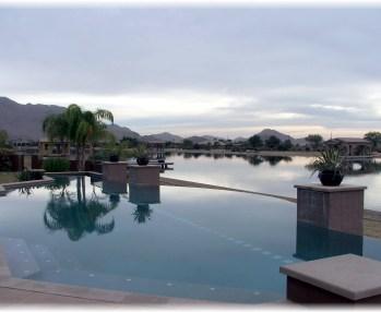 Santan house with pool