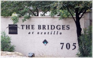 The Bridges at Ocotillo Marquee