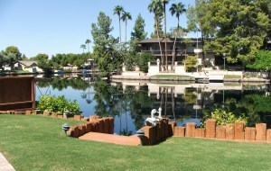 The Lakes in Tempe Waterfront Home