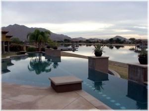 Santan House with neg edge pool