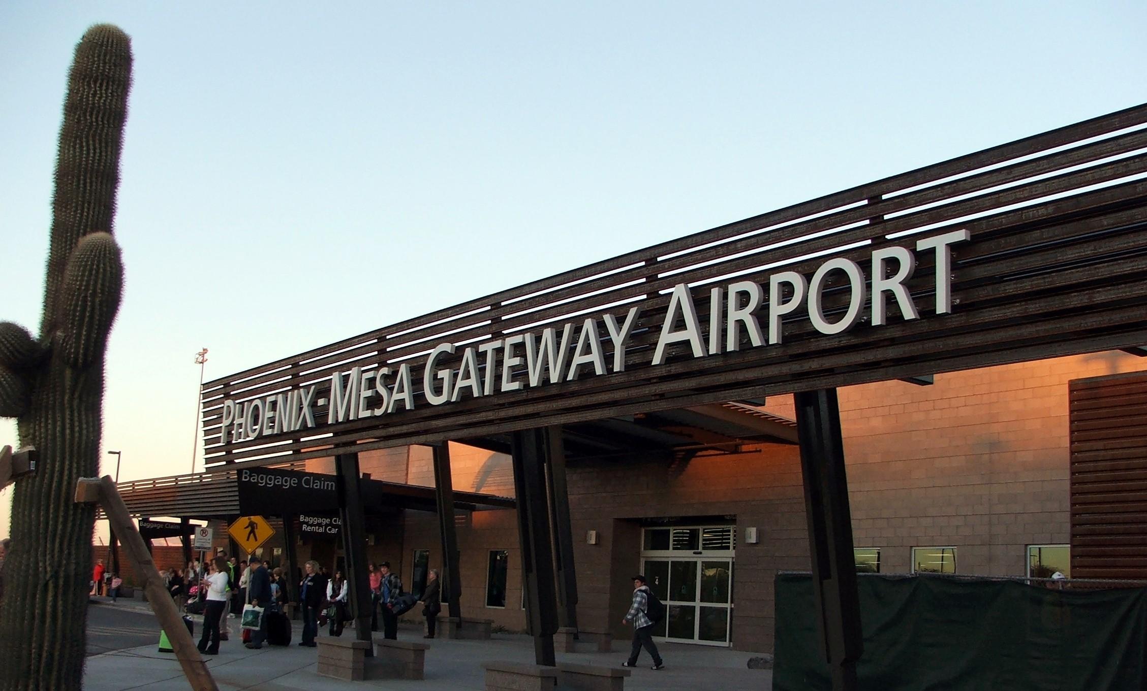 Phoenix Mesa Gateway Airport benefits Mesa Gilbert Gold
