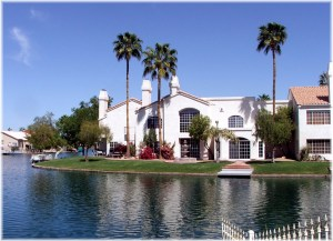 Waterfront townhouse at Coral Reef