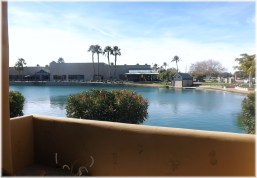 Lakeshore at Andersen Springs Patio View