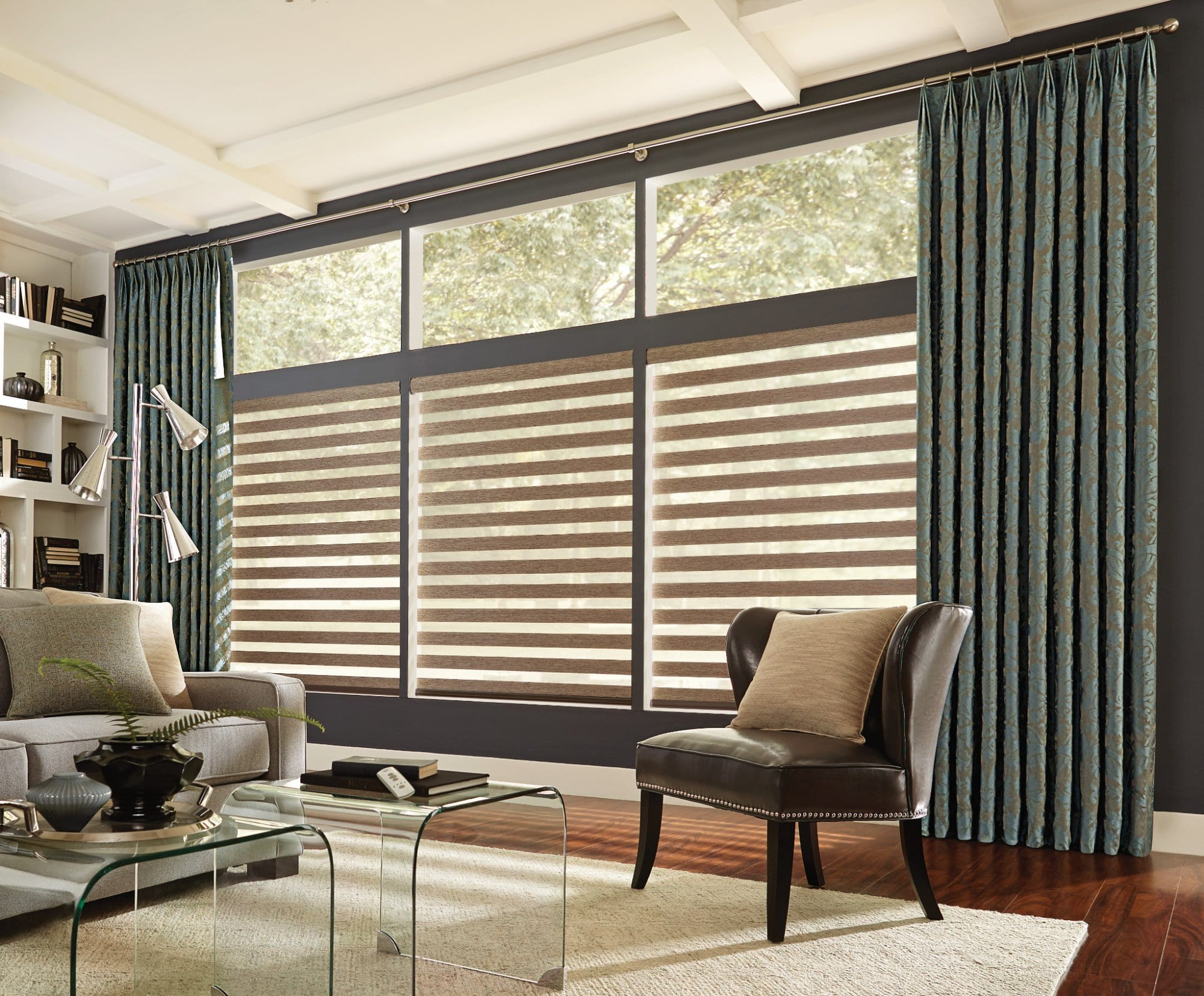 Soft Sheer And Layered Shades For Windows Window Blinds In