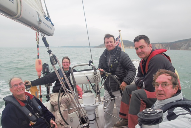 Crossing Christchurch Bay