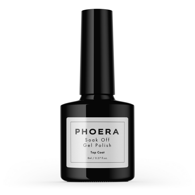 UV Nail Gel - Top Coat Phoera Cosmetics