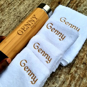 Bamboo Flask and Facetowels