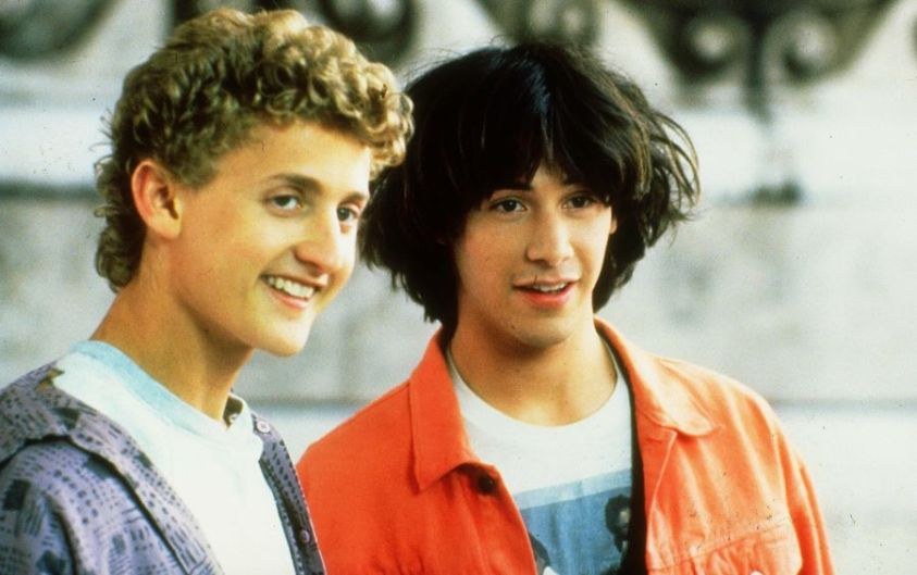 Bill & Ted's Excellent Adventure (1989) Download & Watch Online Hindi Telugu Tamil Dubbed Full Movie