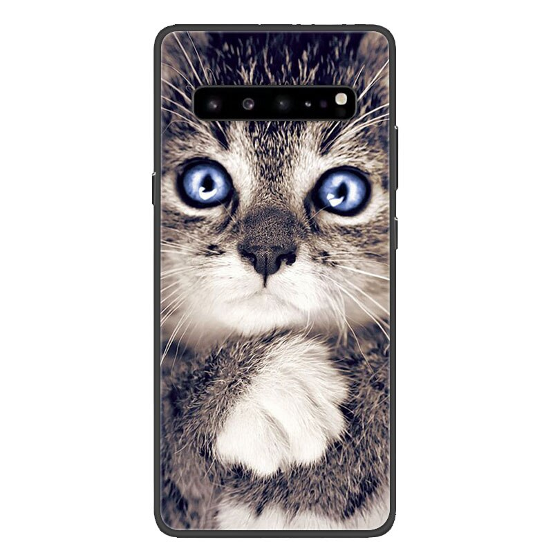 For Samsung S10 Plus Case Black Bumper tpu Soft Silicone Cover For Samsung Galaxy S10 S10E S 10 s10plus Phone Cases Back Shells