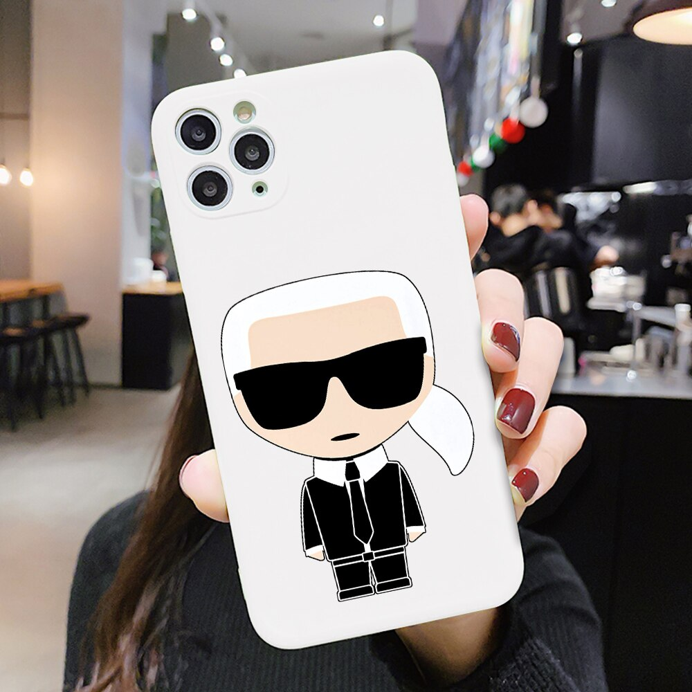 Luxury Popular Style Phone Case for iPhone 12 mini 11 Pro XR X Xs Max 8 7 Plus SE 2020 Frosted Silicone Cases Soft Back Cover