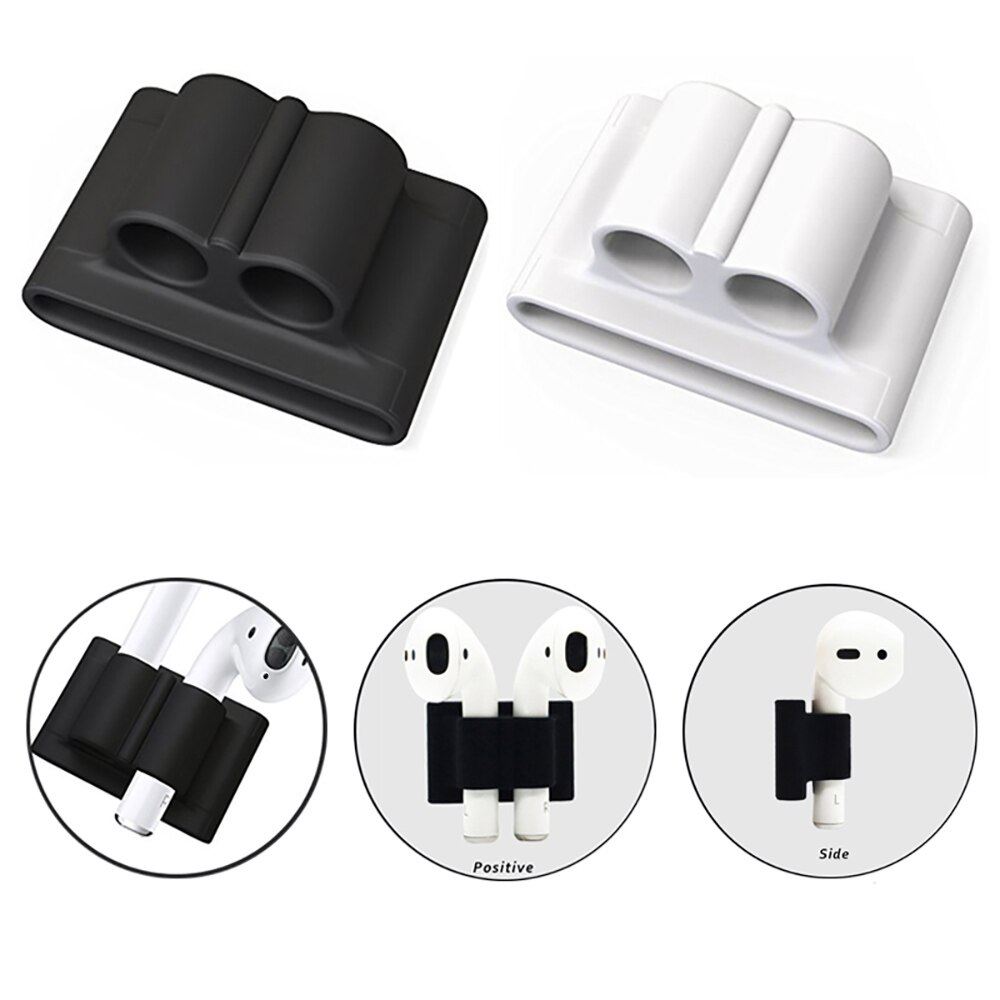Soft Silicone Case For Airpods For Air Pods Shockproof Earphone Protect Cover Waterproof for iphone 11 Headset Accessories