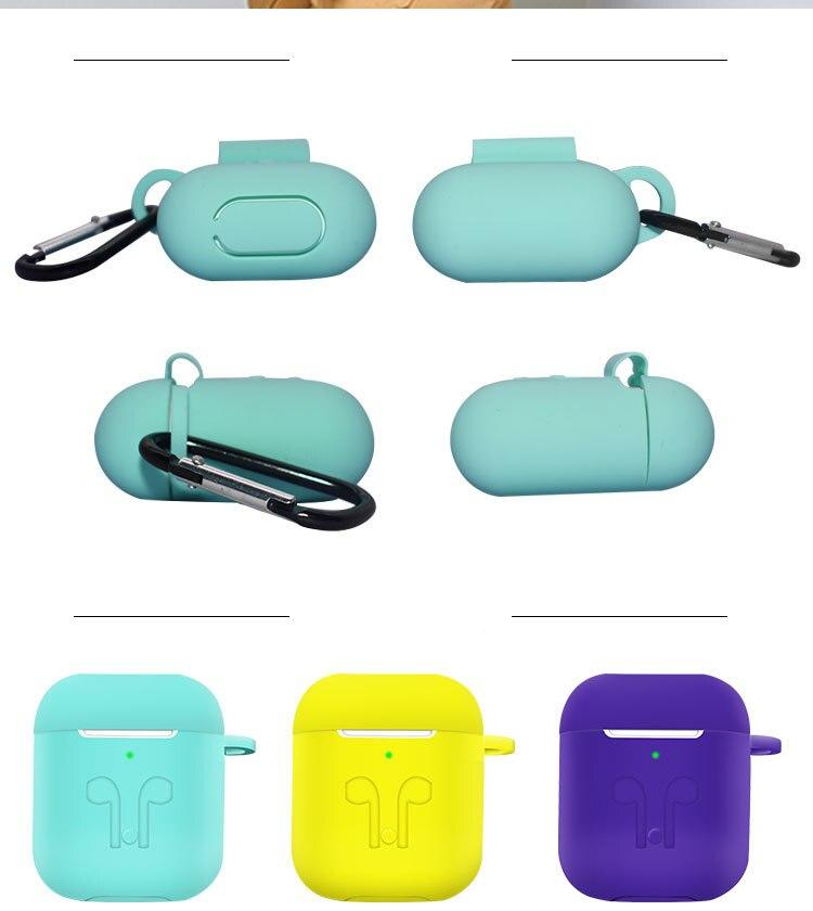 5 in 1 Silicone Case for Airpods 1 for Air Pods 2 Shockproof Earphone Cover Waterproof for Iphone Accessories