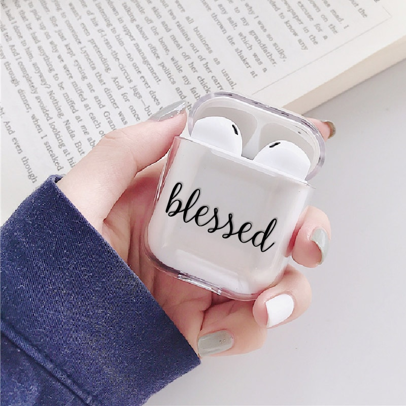 Love Heart Stars Cute Earphone Case For Apple iPhone Charging Box For AirPods Pro Hard Transparent Protective Cover Accessories