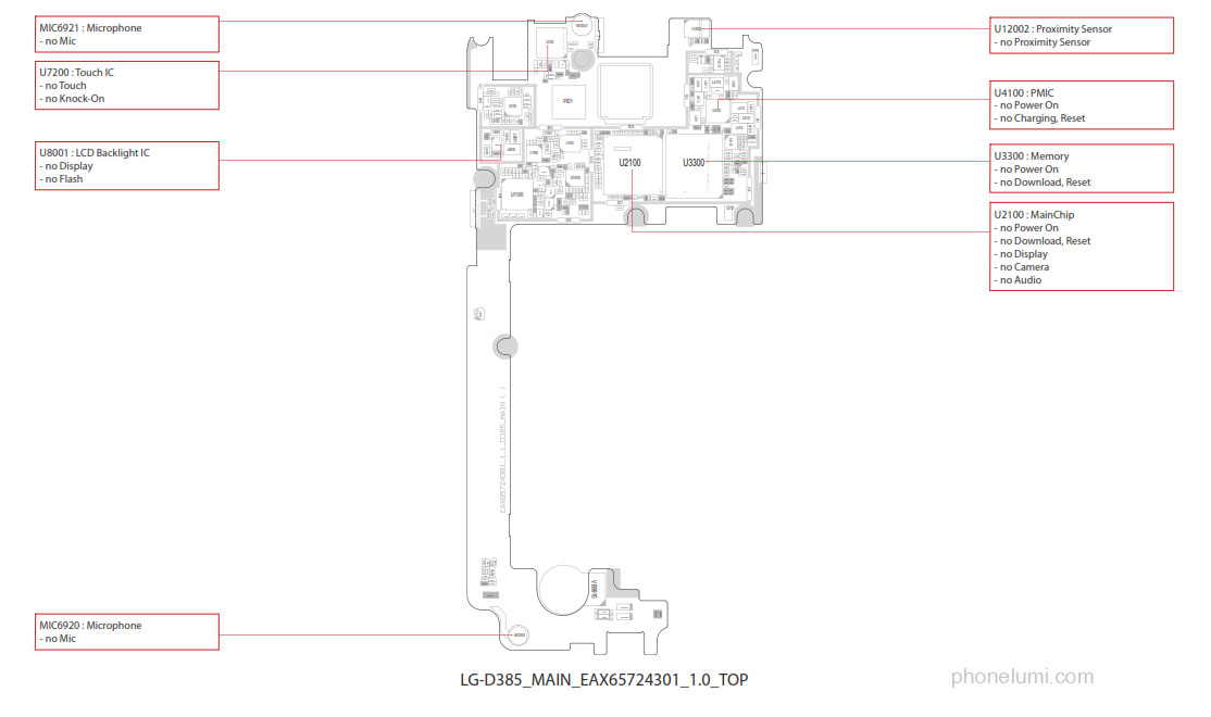 Lg L80 Dual D385 Schematics Trouble Shooting