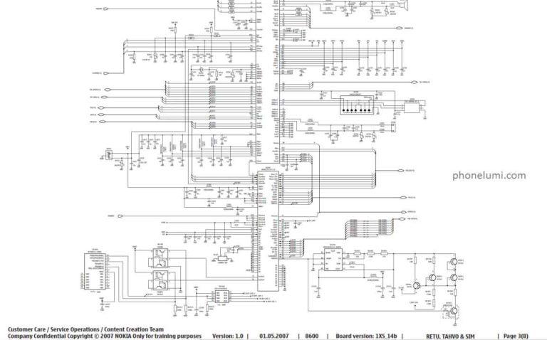 Schematics Nokia 8600 Luna RM-164