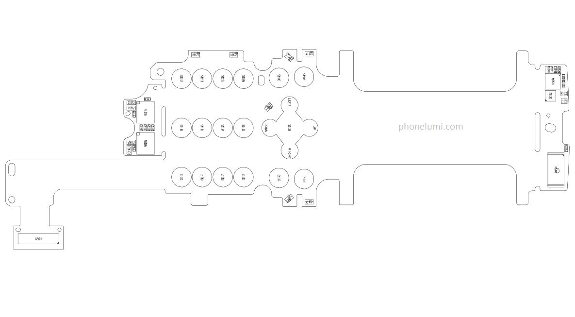 Nokia 8800 Arte RM-233 schematics